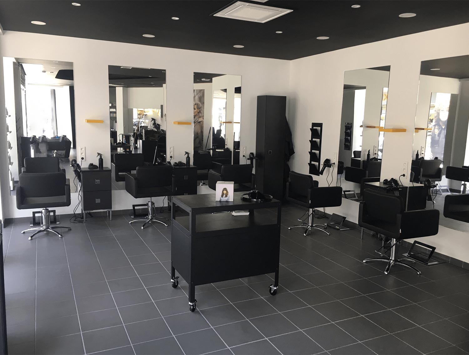 Salon de coiffure, Soissons